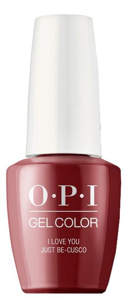 Купить Гель-лак для ногтей Gel Color 15мл: I Love You Just, OPI