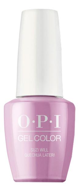 Гель-лак для ногтей Gel Color 15мл: Suzi Will Quechua Later!