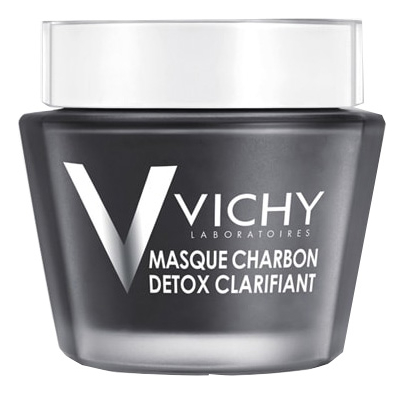 Детокс-маска для лица с древесным углем Detox Clarifying Charcoal Mask: Маска 75мл детокс маска для лица смываемая с углем kiss new york professional charcoal wash off mask 75 мл