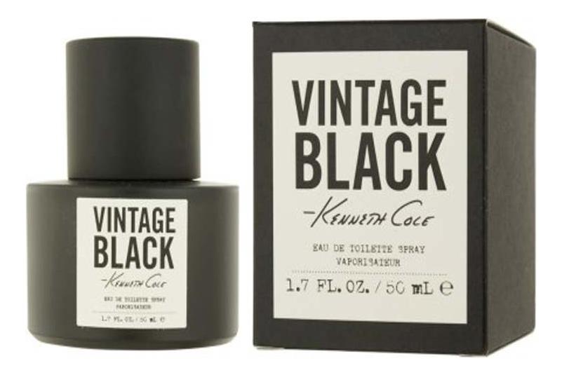 Купить Kenneth Cole Black Vintage: туалетная вода 50мл