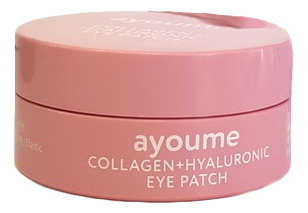 Патчи для кожи вокруг глаз разглаживающие с коллагеном и гиалуроновой кислотой Collagen + Hyaluronic Eye Patch 60шт недорого