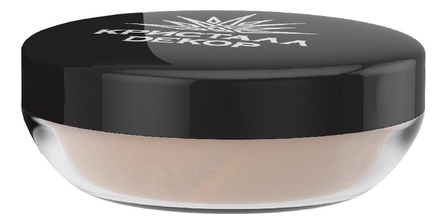 Пудра-вуаль для лица Побег папайи Кристалл Dекор: Пудра-вуаль 5г (новый дизайн) румяна для лица кристалл dекор 5г бурбон сатин новый дизайн