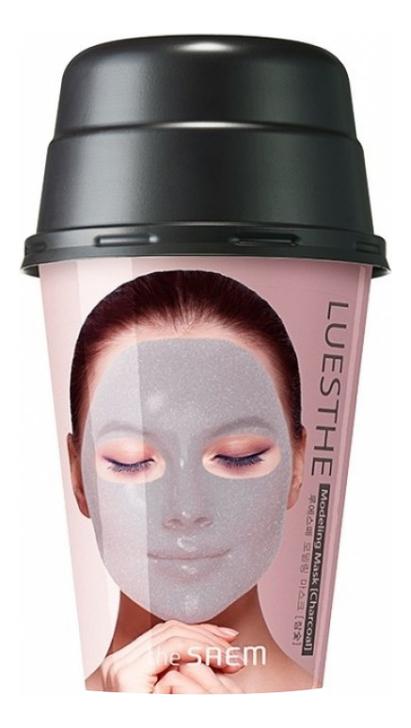 Купить Маска для лица альгинатная с древесным углем Luesthe Modeling Mask Charcoal 55г, The Saem