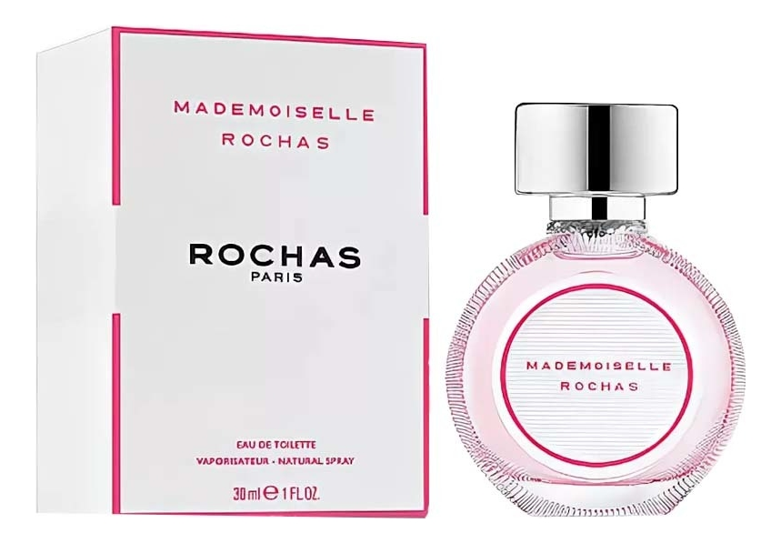 Rochas Mademoiselle Rochas Eau De Toilette: туалетная вода 30мл algologie крем эксфолиант для глубокого очищения морской 50мл