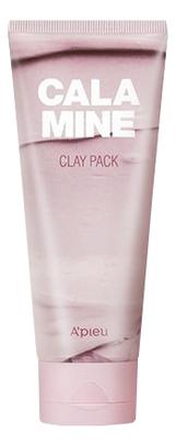 Глиняная маска для лица Calamine Clay Pack 100мл a pieu маска пенка глиняная phytoncide clay pack to foam 100 г