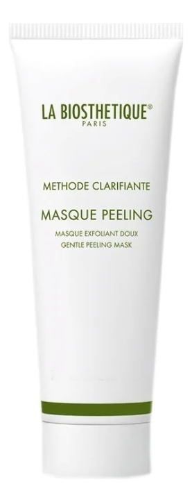 Очищающая маска для лица Methode Clarifiante Masque Peeling: Маска 75мл valmont aqua falls очищающая вода для лица