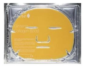 Восстанавливающая коллагеновая маска Ginseng Collagen Boost Boxed (женьшень): Маска 60г