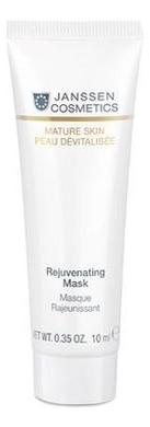 Омолаживающая крем-маска для лица Mature Skin Rejuvenating Mask: Маска 10мл janssen cosmetics маска для губ goodnight