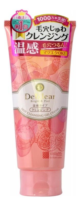 Разогревающий и очищающий крем-гель для лица AHA & BHA Hot Cleansing Gel Cream 200г chi luxury black seed oil curl defining cream gel