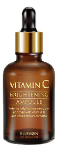 Купить Осветляющая сыворотка для лица с витамином С Ellevon Vitamin C Brightening Ampoule 50мл