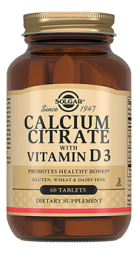 Биодобавка Кальция цитрат с витамином D3 Calcium Citrate With Vitamin 60 таблеток cal mag citrate with vitamin d3