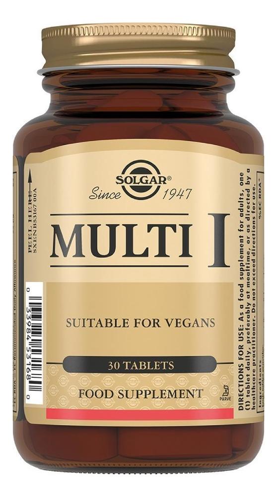 Биодобавка Мульти Multi I 30 таблеток: Биодобавка 30 таблеток