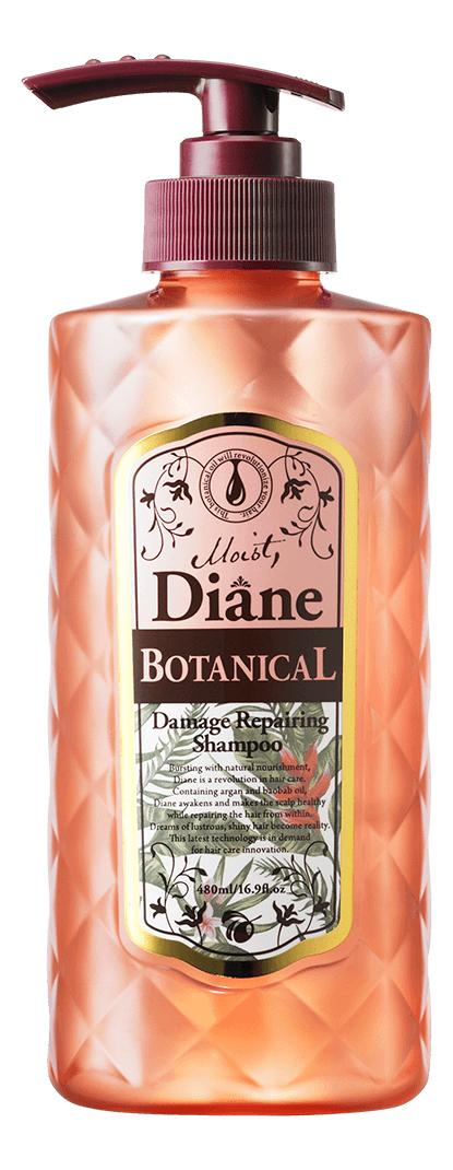 Купить Шампунь для волос Восстановление Botanical Damage Repairing Shampoo 480мл, Moist Diane