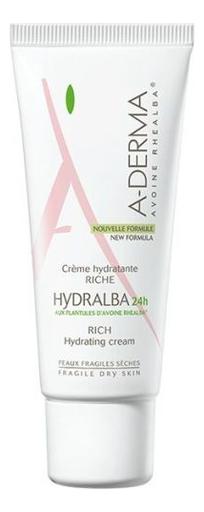 Насыщенный увлажняющий крем для лица Hydralba 24H Rich Hydrating Cream 40мл насыщенный увлажняющий крем для лица hydralba uv rich hydrating cream spf20 40мл