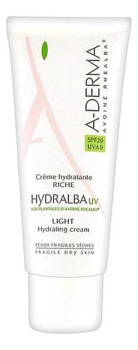 Легкий увлажняющий крем для лица Hydralba UV Light Hydrating Cream SPF20 40мл насыщенный увлажняющий крем для лица hydralba uv rich hydrating cream spf20 40мл