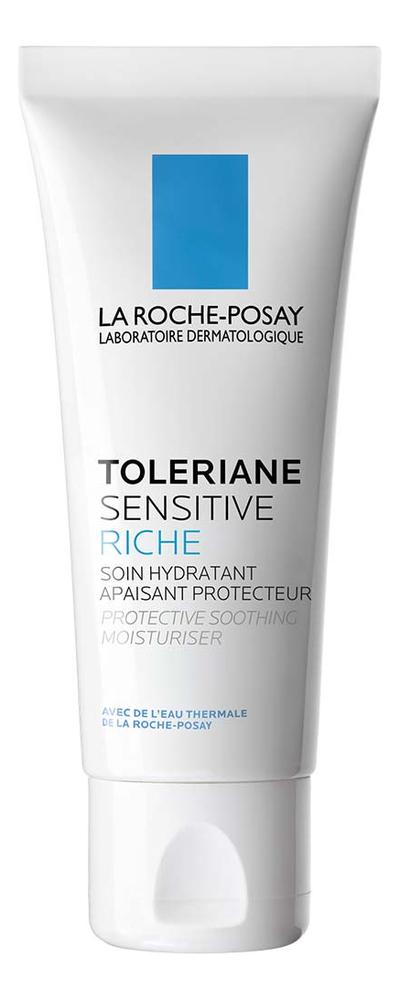 Увлажняющий насыщенный крем для чувствительной кожи лица Toleriane Sensitive Riche 40мл