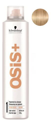 Купить Сухой пигментированный шампунь для волос Osis+ Boho Rebel 300мл: Blond, Schwarzkopf Professional