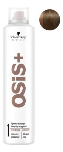 Купить Сухой пигментированный шампунь для волос Osis+ Boho Rebel 300мл: Brunette, Schwarzkopf Professional