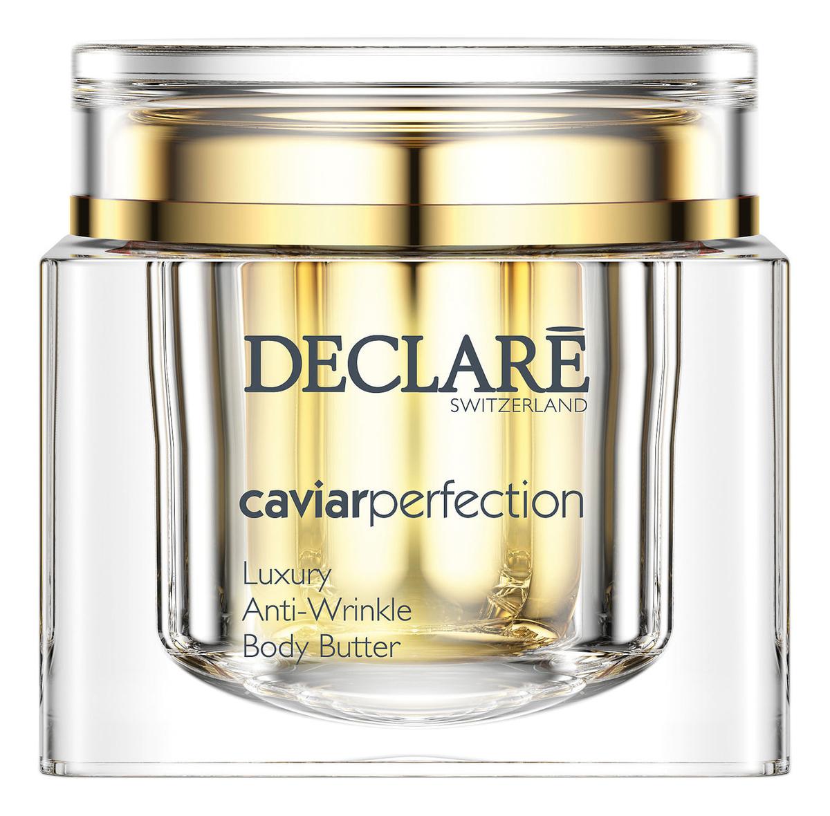 Питательный крем-люкс для тела с экстрактом черной икры Caviar Perfection Luxury Anti-Wrinkle Body Butter 200мл
