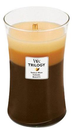 Купить Ароматическая свеча Trilogy Cafe Sweets: свеча 609, 5г, WoodWick