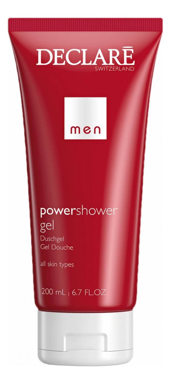 Гель для душа Men Care Power Shower Gel 200мл гель для душа men sensitiv 3in1 shower gel 200мл