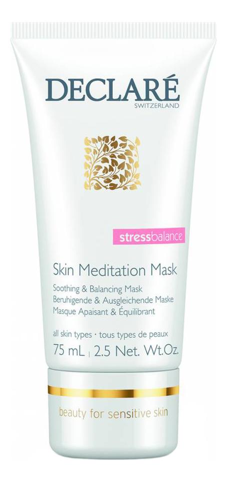 Купить Интенсивная успокаивающая маска для лица Stress Balance Skin Meditation Mask 75мл, DECLARE