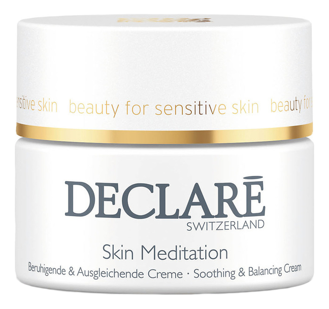 Успокаивающий восстанавливающий крем для лица Stress Balance Skin Meditation Soothing & Balancing Cream 50мл