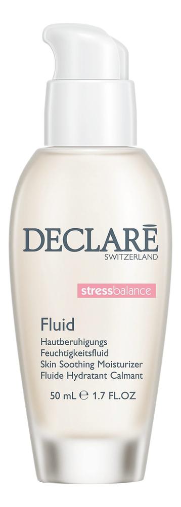 Купить Успокаивающий восстанавливающий флюид для лица Stress Balance Skin Soothing Moisturizer Fluid 50мл, DECLARE
