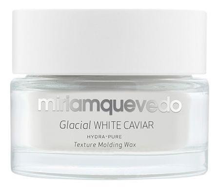 Моделирующий воск для волос с маслом прозрачно-белой икры Glacial White Caviar Hydra-Pure Texture Molding Wax 50мл спрей кондиционер несмываемый с маслом прозрачно белой икры glacial white caviar resort leave in conditioner 150мл
