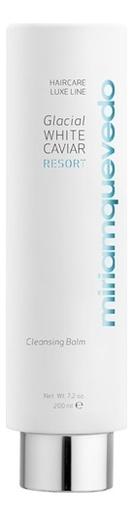 Фото - Очищающий бальзам для волос с маслом прозрачно-белой икры Glacial White Caviar Resort Cleansing Balm 200мл очищающий бальзам для лица hydro effect cleansing balm 100мл