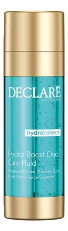 Двухфазный увлажняющий флюид Hydro Balance Boost Duo Care Fluid 2*20мл