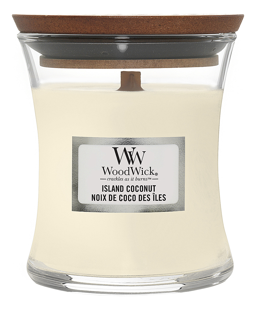 Фото - Ароматическая свеча Island Coconut: Свеча 275г ароматическая свеча игристое вино свеча 70г