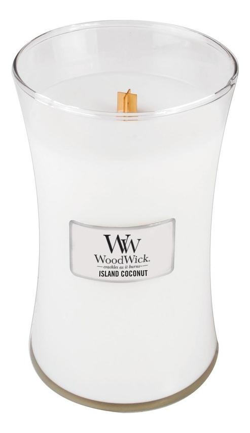 Купить Ароматическая свеча Island Coconut: Свеча 609, 5г, WoodWick