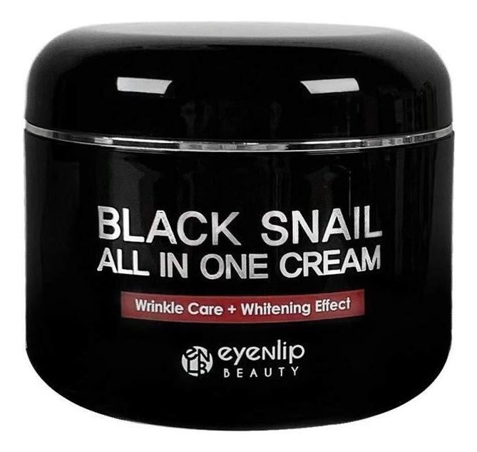 Купить Крем для лица многофункциональный с экстрактом черной улитки Black Snail All In One Cream 100мл: Крем 100г, Eyenlip