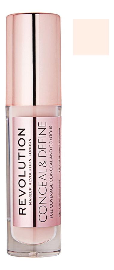 Купить Консилер для лица Conceal & Define 4г: C 6, Консилер для лица Conceal & Define 4г, Makeup Revolution