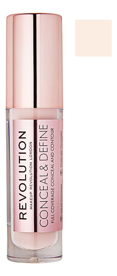 Купить Консилер для лица Conceal & Define 4г: C 7, Консилер для лица Conceal & Define 4г, Makeup Revolution