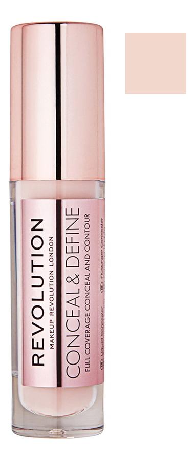 Купить Консилер для лица Conceal & Define 4г: C 12, Консилер для лица Conceal & Define 4г, Makeup Revolution