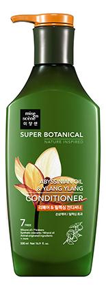 Купить Восстанавливающий расслабляющий кондиционер Super Botanical Abyssinian Oil & Ylang Ylang Conditioner 500мл, Восстанавливающий расслабляющий кондиционер Super Botanical Abyssinian Oil & Ylang Ylang Conditioner 500мл, Mise En Scene
