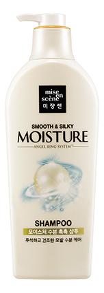 Увлажняющий шампунь для блеска волос Pearl Smooth & Silky Moisture Shampoo 780мл