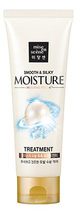 Купить Маска для придания блеска волосам Pearl Smooth & Silky Moisture Treatment: Маска 180мл, Маска для придания блеска волосам Pearl Smooth & Silky Moisture Treatment, Mise En Scene