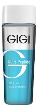 Жидкость для снятия макияжа Nutri-Peptide Eye & Lips Make Up Remover 100мл