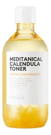 Успокаивающий увлажняющий тонер с экстрактом календулы Meditanical Calendula Toner 305мл
