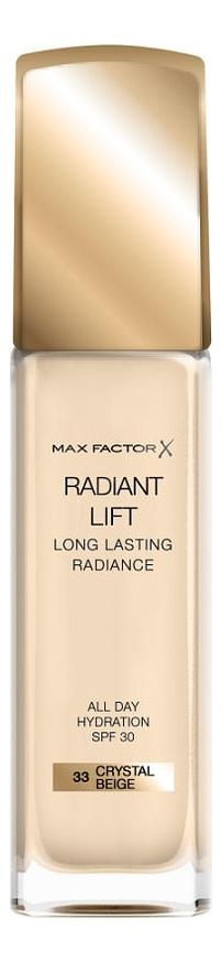 Тональная основа Radiant Lift Long Lasting Radiance 30мл: 33 Crystal Beige