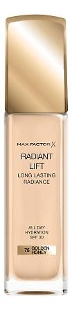 Тональная основа Radiant Lift Long Lasting Radiance 30мл: 75 Golden Honey недорого