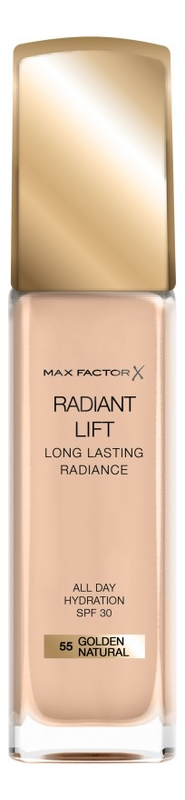 Тональная основа Radiant Lift Long Lasting Radiance 30мл: 55 Golden Natural