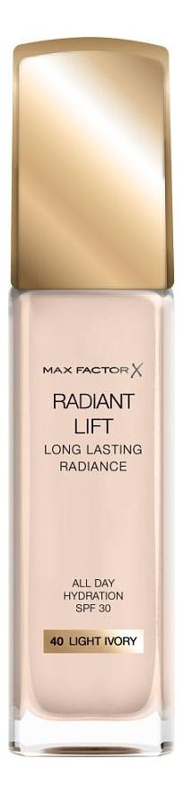 Тональная основа Radiant Lift Long Lasting Radiance 30мл: 40 Light Ivory