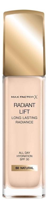 Тональная основа Radiant Lift Long Lasting Radiance 30мл: 50 Natural фото