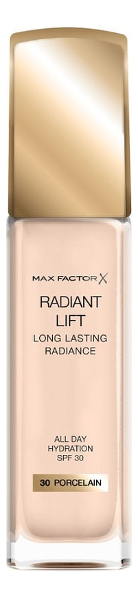 Купить Тональная основа Radiant Lift Long Lasting Radiance 30мл: 30 Procelan, Max Factor