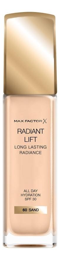 Купить Тональная основа Radiant Lift Long Lasting Radiance 30мл: 60 Sand, Max Factor