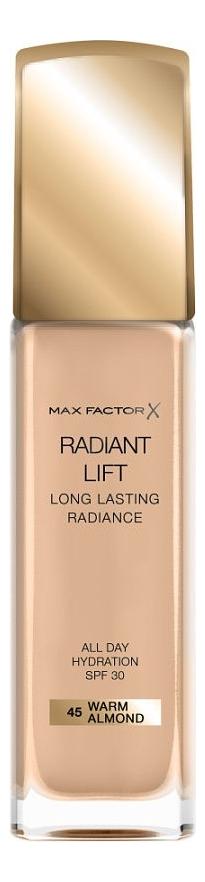 Тональная основа Radiant Lift Long Lasting Radiance 30мл: 45 Warm Almond